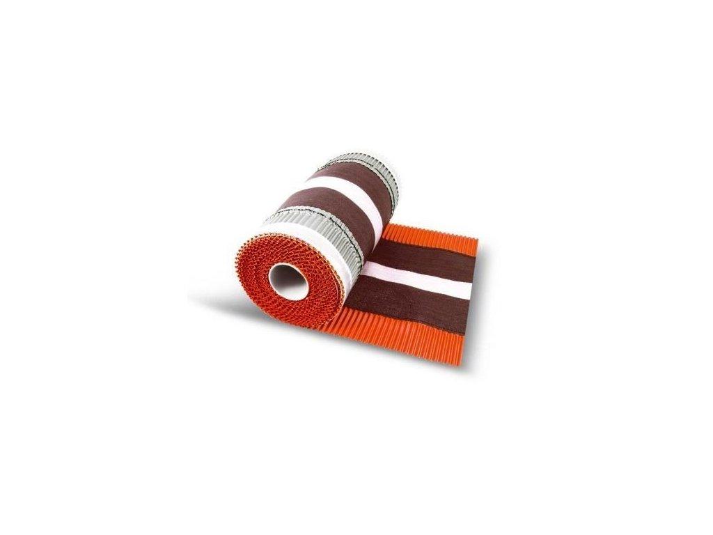 Hřebenový pás nárožní červenohnědá 310x5000mm DACHROL