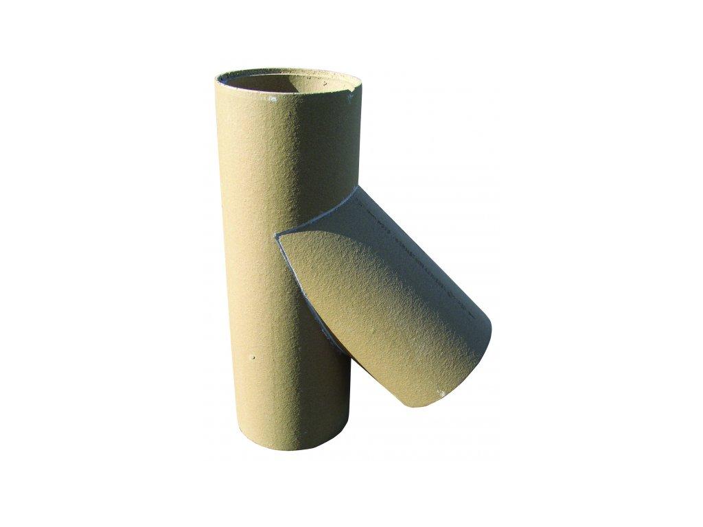 Šamotová vložka pro sopouch 45°, Ø 160