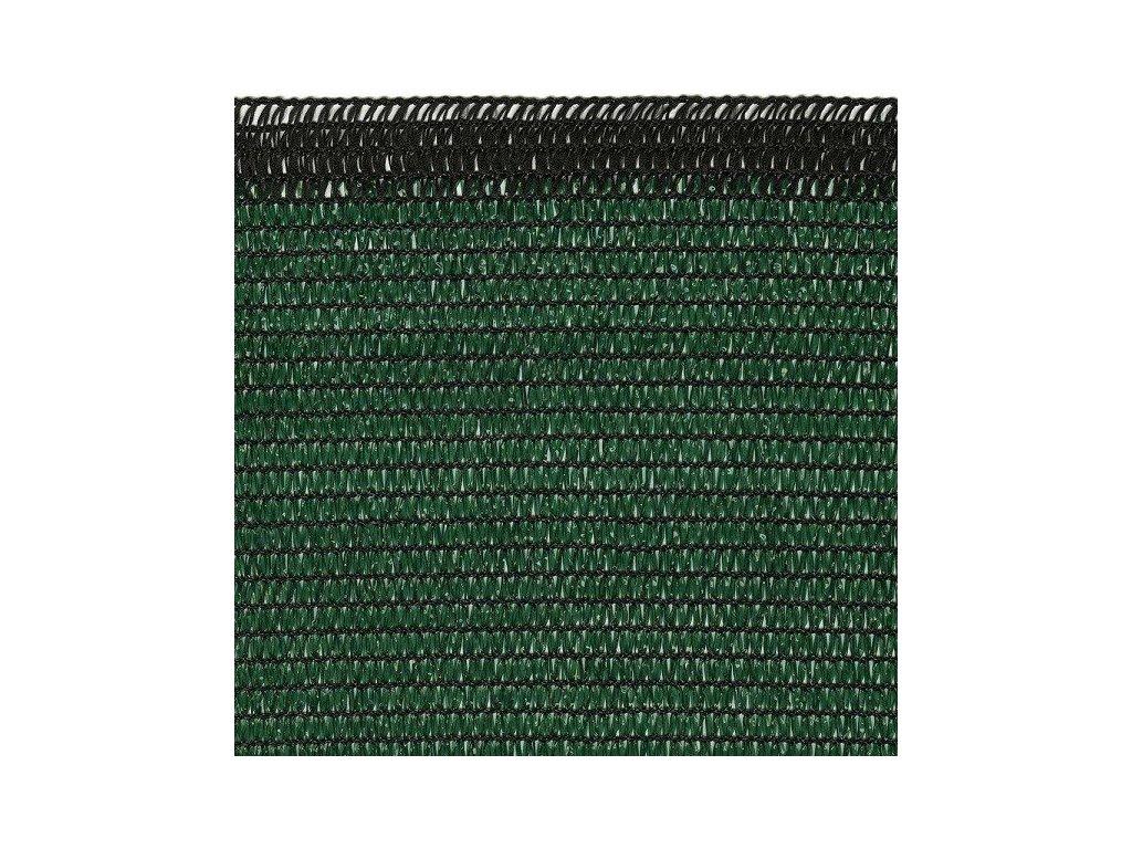 Stínící sítě na ploty 2 x 50 m zelená SOLEADO PRO stínění 90%
