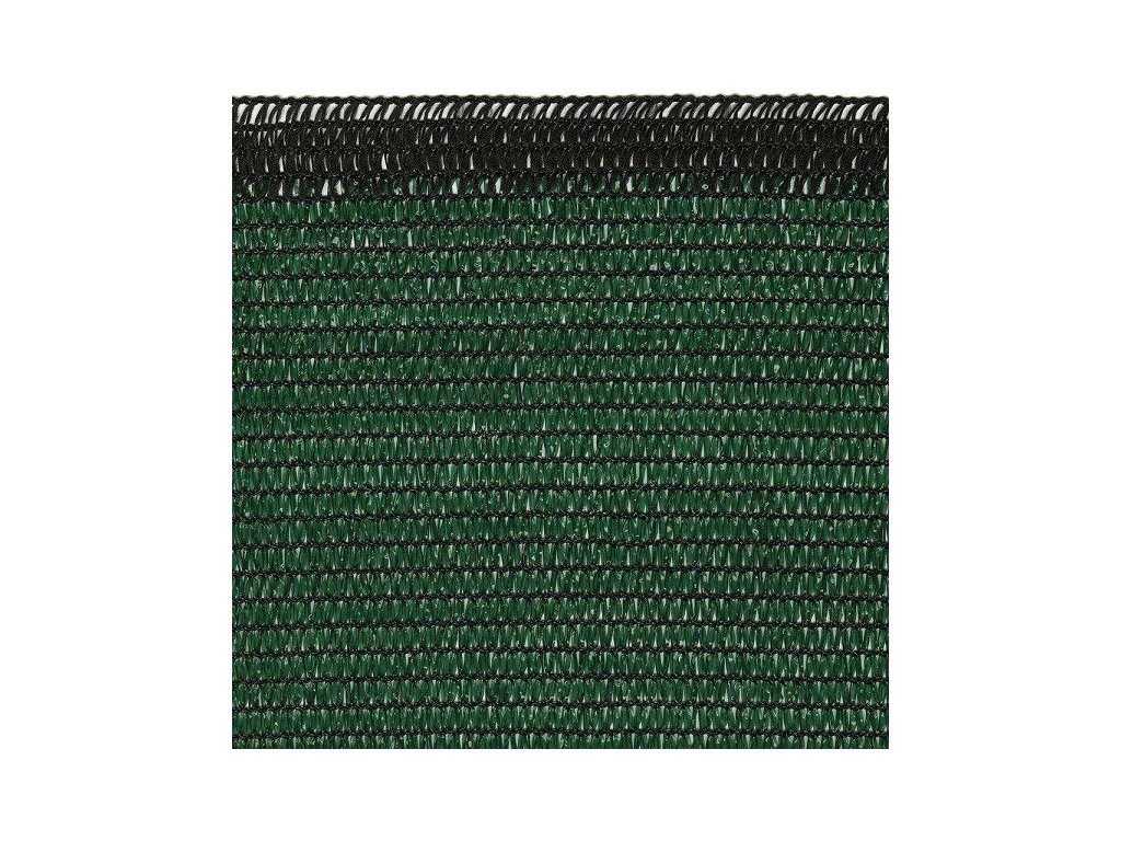 Stínící sítě na ploty 1,2 x 100 m zelená SOLEADO PRO stínění 90%