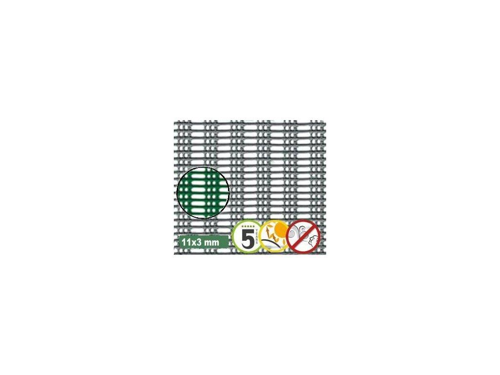 Ochranná síť proti větru 11 x 3 mm MISTRAL 1 x 30 m zelená