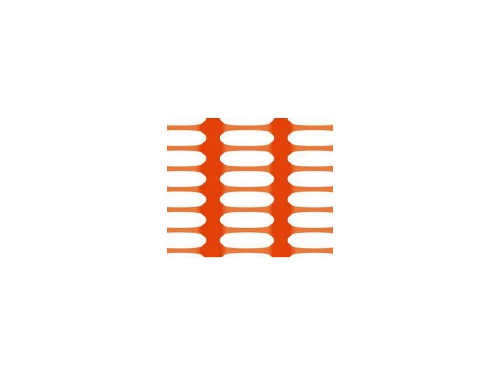 Bezpečnostní síť vyznačovací oranžová 1,2 x 50 m DRAGON (250g/m2)
