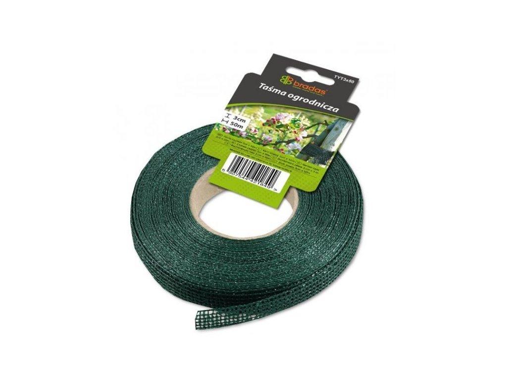 Zahradní páska na rostliny 50m / šířka 3cm