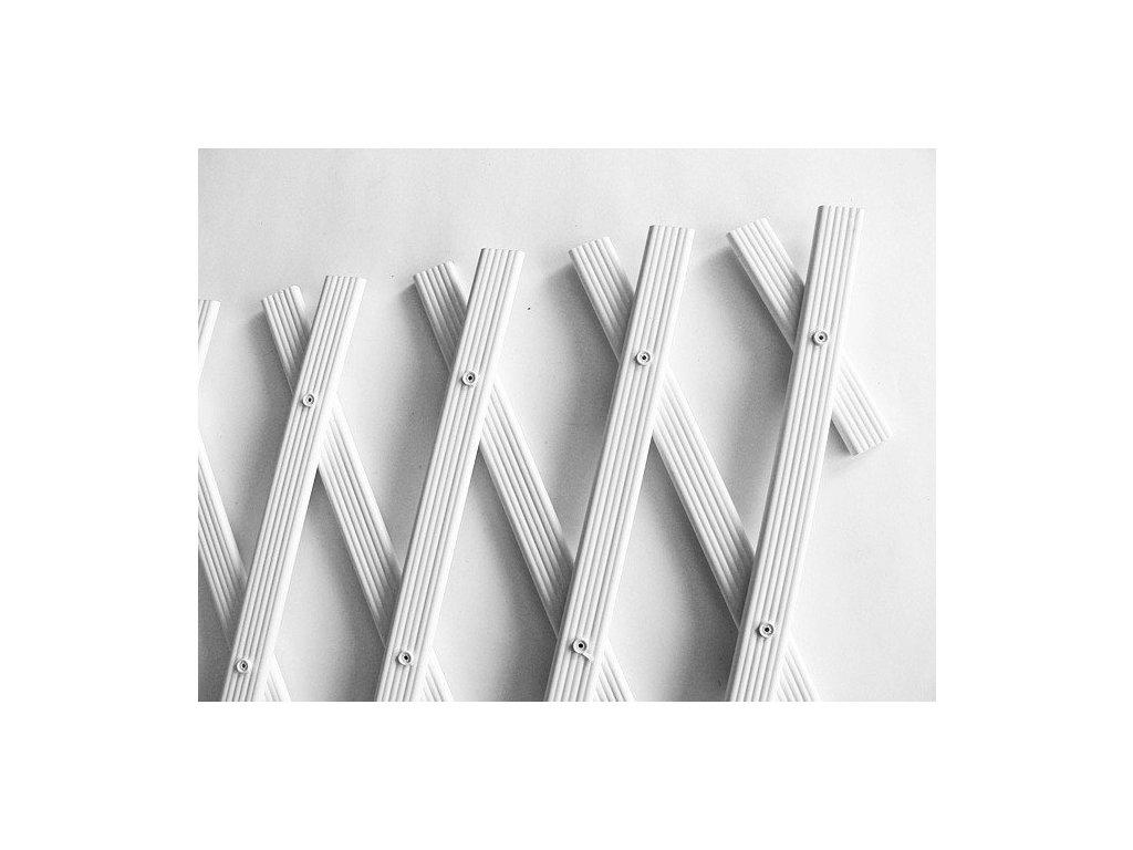 Mřížka na popínavé rostliny 1 x 3 m TREPLAS bílá treláž