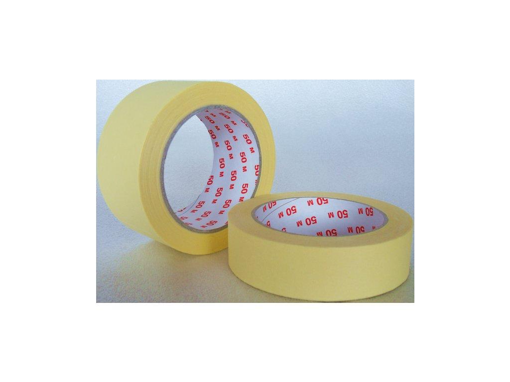 Malířská krepová páska 60°C  - 25mm x 50m