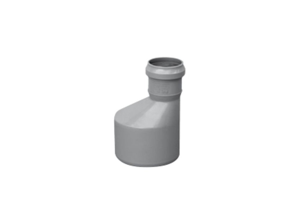 Kanalizační redukce HT odpadní přechodka Ø 100/50 vnitřní