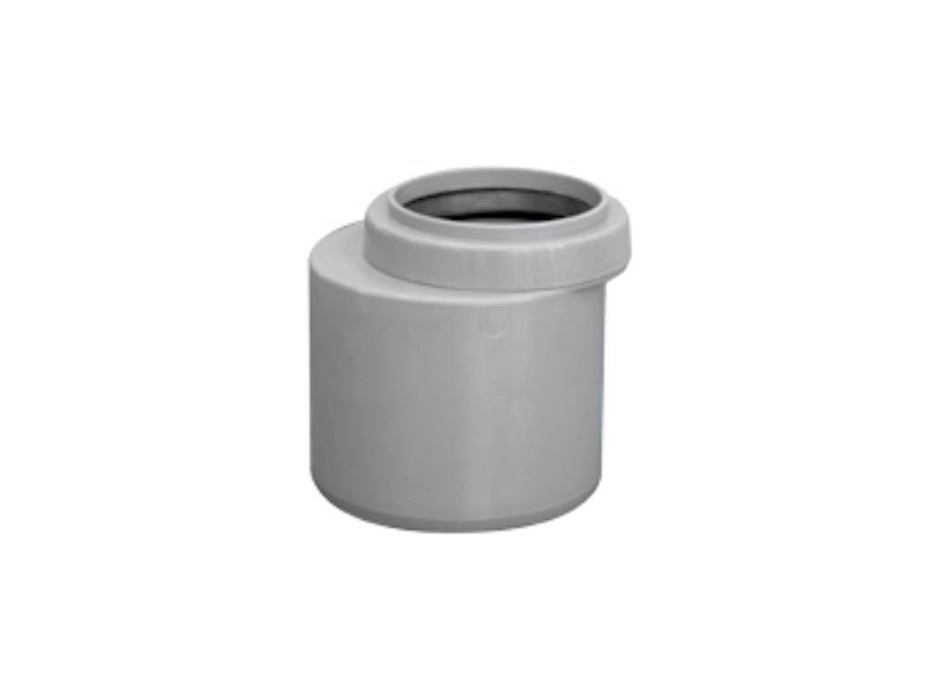 Kanalizační redukce krátká HT odpadní přechodka Ø 50/40 vnitřní