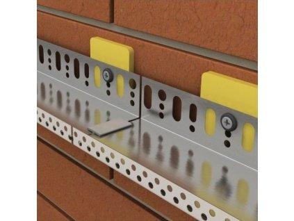 Podložka pod soklové lišty hliníkové 8mm (50ks)