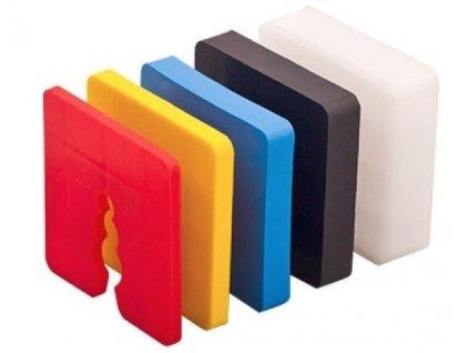 Podložka pod soklové lišty hliníkové 10mm (50ks)