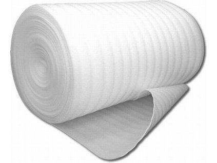Kročejová izolace PE MIRELON tl. 1mm (1,1x300m)