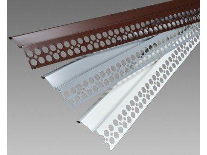 Balkonový profil přímý HNĚDÝ 2m