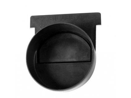 Koncovka žlabu s odtokem pro odvodňovací žlab 125x95 mm