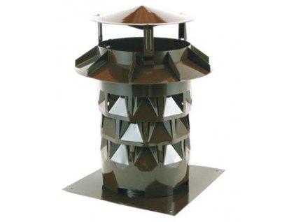 Komínový nástavec s podstavou EKON hlavice 180 mm