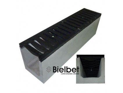 Odvodňovací žlab BETONOVÝ sféroidální litina 60t (500x250x300)