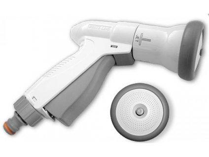 Multifunkční stříkací pistole pro zahradní hadice SUPER SPRAY WHITE LINE