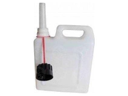 Plastový kanystr s hrdlem 5 litrů na vodu