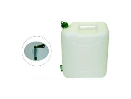 Plastový kanystr s kohoutkem 20 litrů na vodu