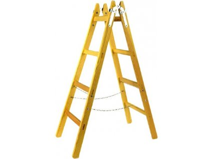 Dřevěné štafle 3 příčky s vymezovacím řetízkem XTline