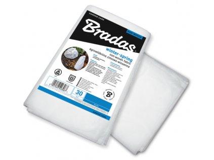 Netkaná textilie zimní fólie bílá 1,6x10m 30g/m2