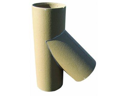 Šamotová vložka pro sopouch 45°, Ø 180