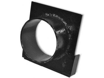 Koncovka žlabu s odtokem 130 x 120 mm 110 pro betonové žlaby