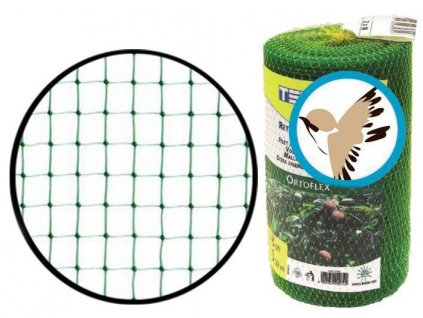 Sítě proti ptactvu 2 x 500 m (oko 10 x 12 mm) ochrana proti ptákům