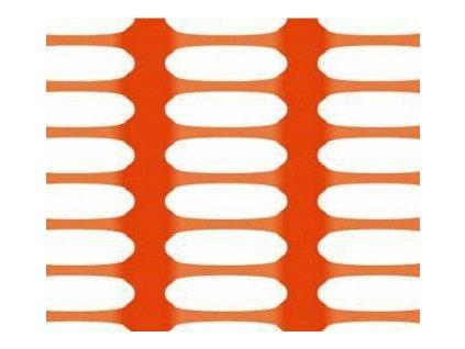 Bezpečnostní síť vyznačovací oranžová 1,8 x 50 m DRAGON (250g/m2)
