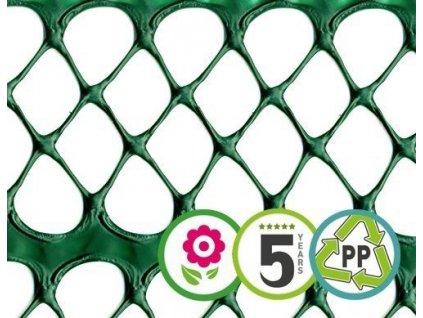 Dekorační plastový plůtek FLORET 0,6 x 5 m ochranný