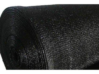 Stínící tkanina 95% na plot síťka 1,5 x 50 m SAMOA černá (180g/m2)