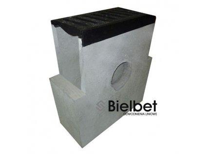 Sběrná vpusť žlab BETONOVÁ 300 litina 40t (620x250x700)