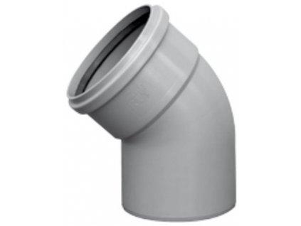 Kanalizační koleno HT odpadní Ø 70 / 15° vnitřní