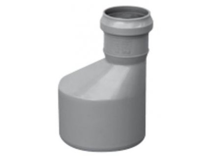 Kanalizační redukce HT odpadní přechodka Ø 100/70 vnitřní