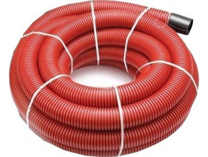 Kabelová chránička 50 mm roura trubka 50 m s průvlačným provázkem VÝPRODEJ