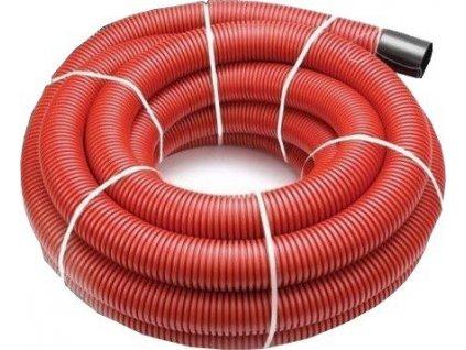Kabelová chránička 75 mm roura trubka 50 m s průvlačným provázkem VÝPRODEJ