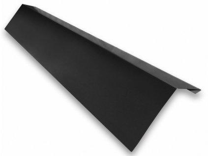 Okapní plech 1m okapnice černá