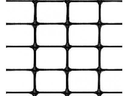 Super odolné plastové pletivo MILLENNIUM 1,5 x 25 m plot černý