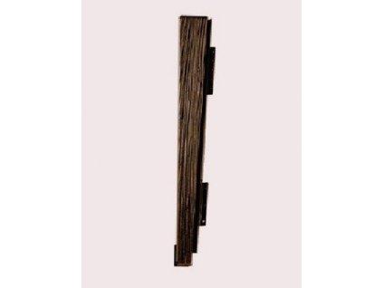 Drdlíkův dřevěný šindel Úžlabí DDU II EUREKO černá