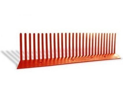 Ventilační mřížka ochranná 55mm x 1m cihlová