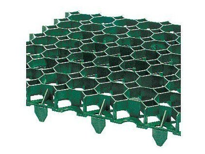Zatravňovací dlažba plastová 50 x 50 x 6,2cm TRAVEX (160t/m2)