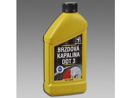 Brzdová kapalina DOT3 do auta 500 ml Den Braven