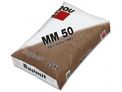 BAUMIT MM50 zdicí malta (zrnitost 4mm) 40kg