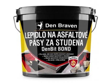 Lepidlo na asfaltové pásy za studena DenBit BOND 10 kg Den Braven