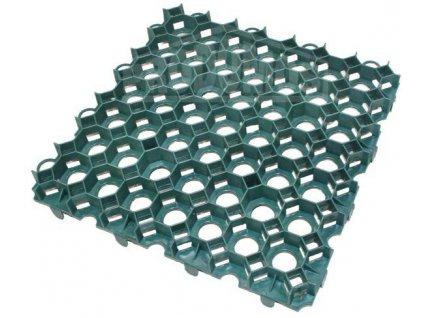 Plastová dlažba zelená zatravňovací Guttagarden Original 50 x 50 x 6,2cm