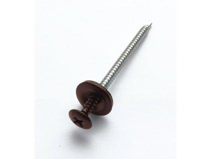 Vrtací vruty hnědé 3,9x60mm (100ks) střešní krytina