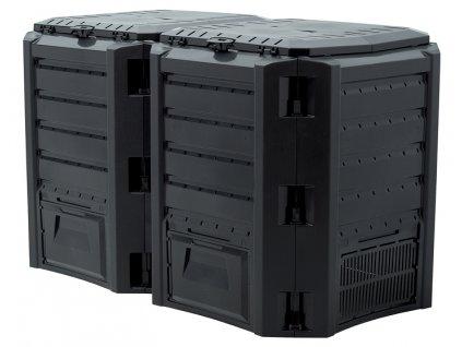 Kompostér 800 l černý Compogreen Module