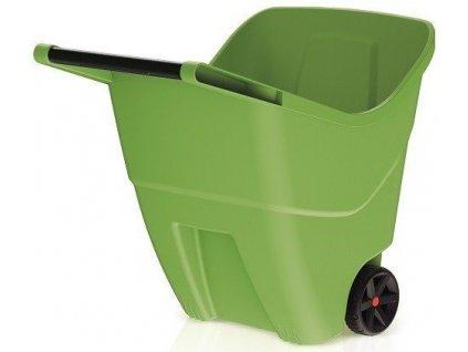 Zahradní vozík Load & Go 85 l zelený trakař