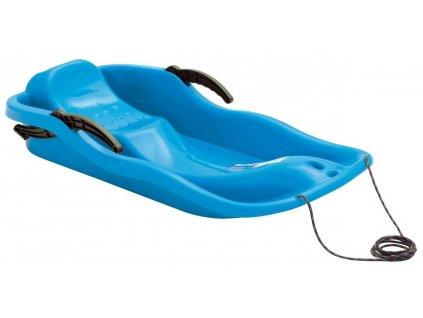 Dětské sáňky Boby RACE modré sáně plastové