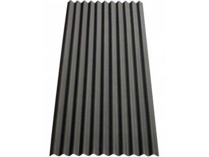 Vlnitá deska střešní bitumenová GUTTANIT 11 černá VÝPRODEJ