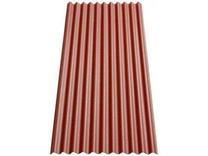 Vlnitá deska střešní bitumenová GUTTANIT K11 červená VÝPRODEJ