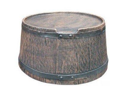 Podstavec pod sud imitace dřeva 120 l